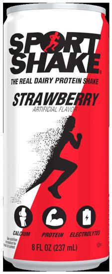 Strawberry Sport Shake