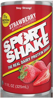 Sport Shake Fraise